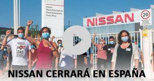 Nissan confirma el cierre de varias plantas en España