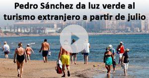 España se abrirá al turismo este mes de julio