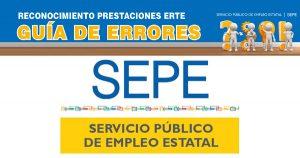 El SEPE publica una guía para los errores de los ERTEs