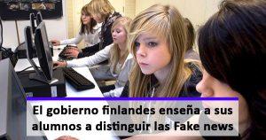 En Finlandia enseñan a los alumnos que información es fiable y cuál no