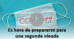 Es hora de prepararse para una segunda ola de la pandemia, según la OMS