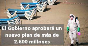 2.600 millones para reactivar el turismo