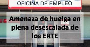 Amenaza de huelga de los trabajadores del SEPE