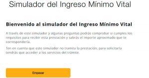 Comprueba con este simulador si puedes recibir la RENTA MÍNIMA VITAL