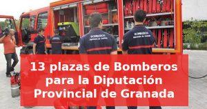 13 plazas de Bomberos para la Diputación Provincial de Granada