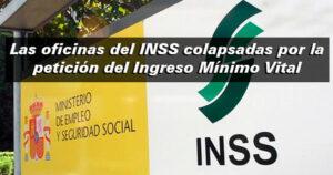 Colapso en las oficinas del INSS por el Ingreso Mínimo Vital