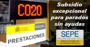 Subsidio excepcional para parados que han agotado las ayudas