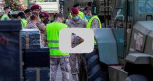 El Ejército instala un hospital de campaña en Zaragoza para reforzar las urgencias