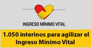 Hacienda contratará 1.050 interinos para salvar el IMV