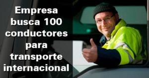 Una empresa busca 100 conductores en Huelva, Almería y Lleida
