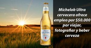 50.000 dólares por viajar, fotografiar y beber cerveza