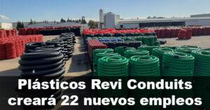 Plásticos Revi Conduits invertirá 370.000 euros para instalarse en La Carolina
