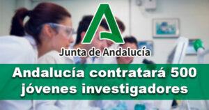 Andalucía invertirá casi 24 millones en jóvenes investigadores