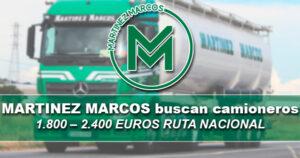 MARTINEZ MARCOS  NECESITAN CAMIONEROS