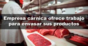 Una empresa cárnica de Córdoba busca envasadores para sus productos