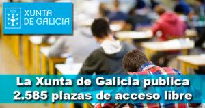 Publicada en el DOG la oferta de empleo público de la Xunta