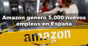 Amazon generó 5.000 nuevos puestos de trabajo durante 2020