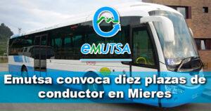 La empresa municipal de autobuses de Mieres convoca diez plazas