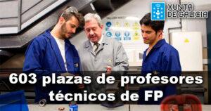 La Xunta amplía a 603 las plazas de profesores técnicos de FP