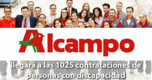 Alcampo renueva su compromiso con Fundación ONCE