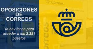 Ya hay fecha para acceder a los 3.381 puestos indefinidos de CORREOS