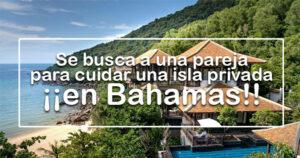 Se busca a una pareja para cuidar una isla privada en Bahamas por 100.000 euros al año