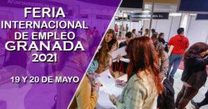 La Feria Internacional de Empleo de Granada contará con unas 250 ofertas de trabajo
