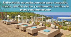 El Hotel Zafiro Palace Andratx de Mallorca creará 243 empleos
