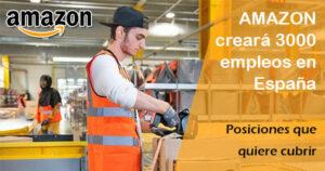 Amazon busca 3.000 empleados fijos en España