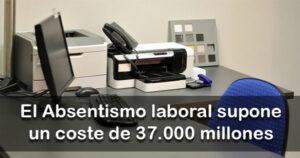 Un millón de trabajadores no acuden a su puesto durante el año