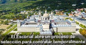 El Escorial abre un proceso para operarios de servicios múltiples