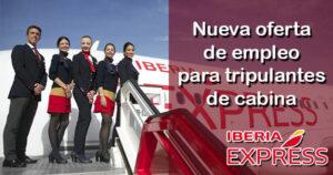 Iberia oferta empleos para tripulantes de cabina